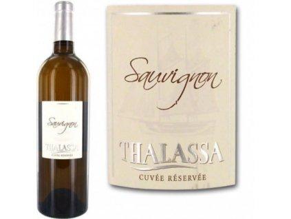 thalassa sauvignon blanc 75cl vin blanc x1