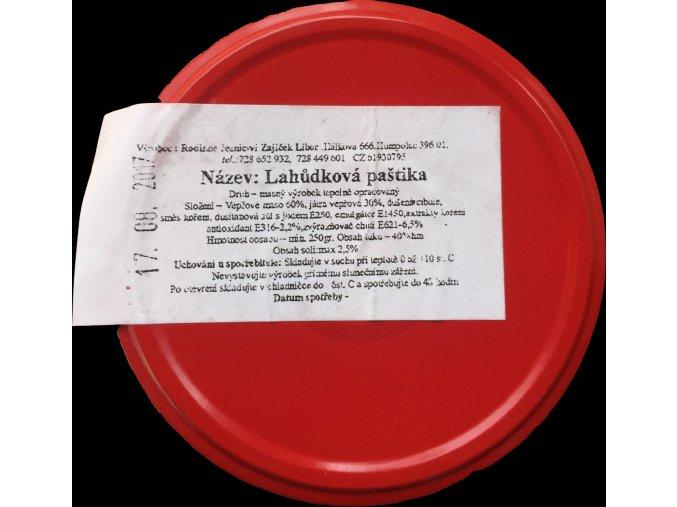Domácí Paštika Lahůdková