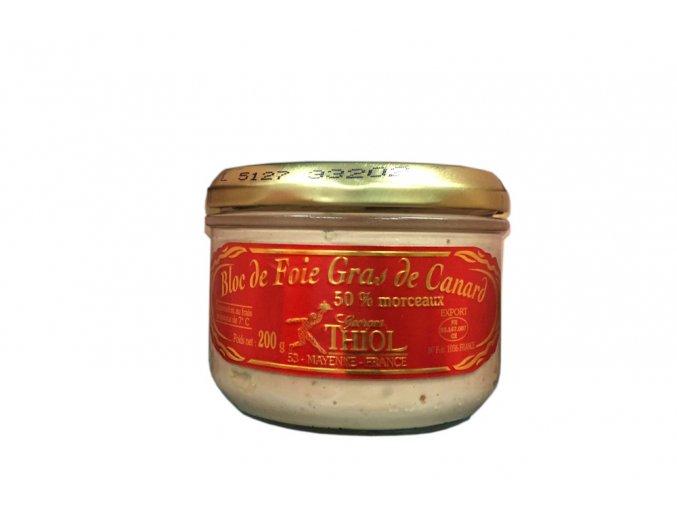 Foie Gras Thiol 100% 200g cena 900,