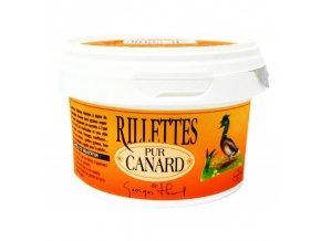 rillettes pur canard thiol