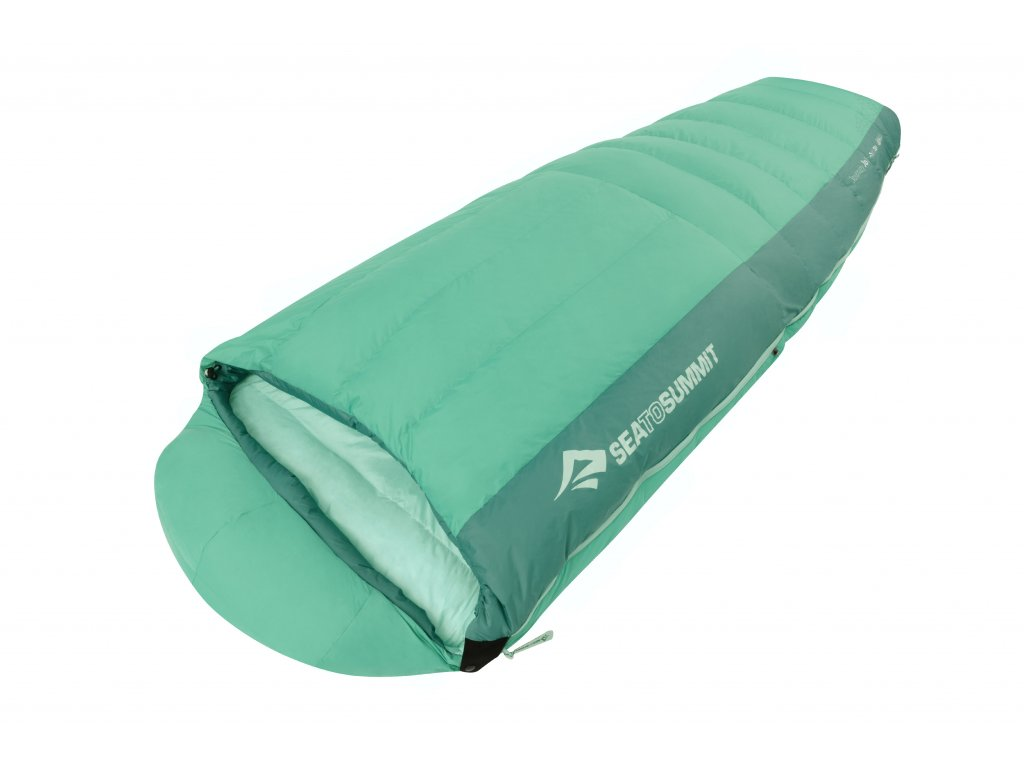 SEA TO SUMMIT spací pytel Journey JoI - Women's (barva zelená, velikost Regular)