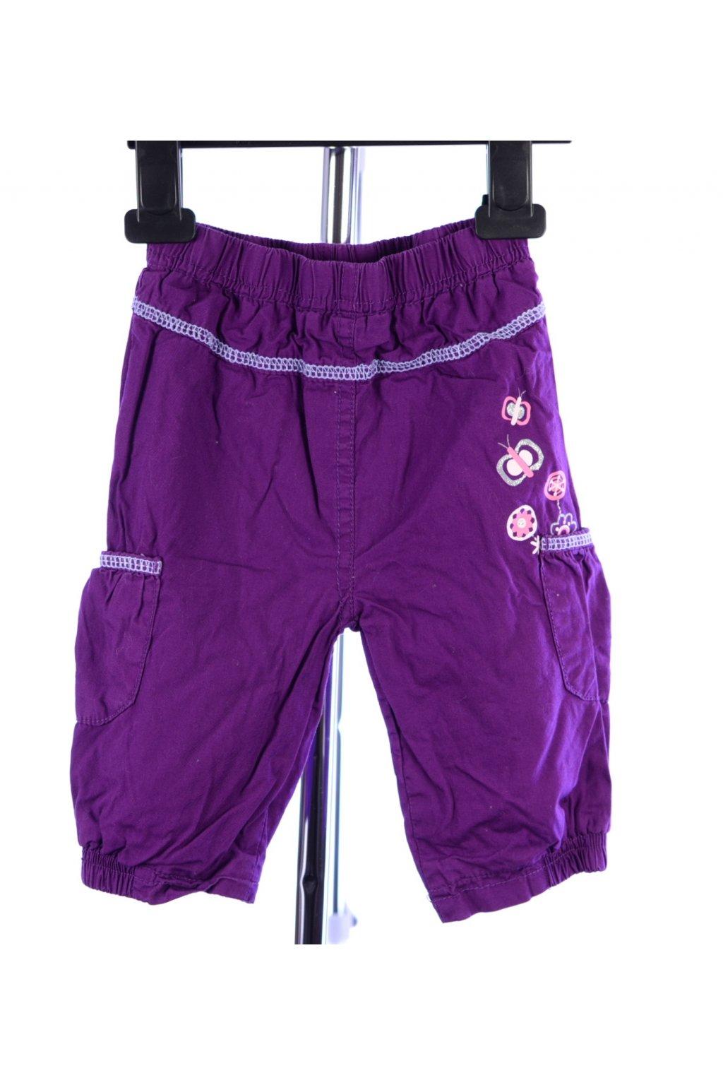 Kalhoty fialové vel. 68