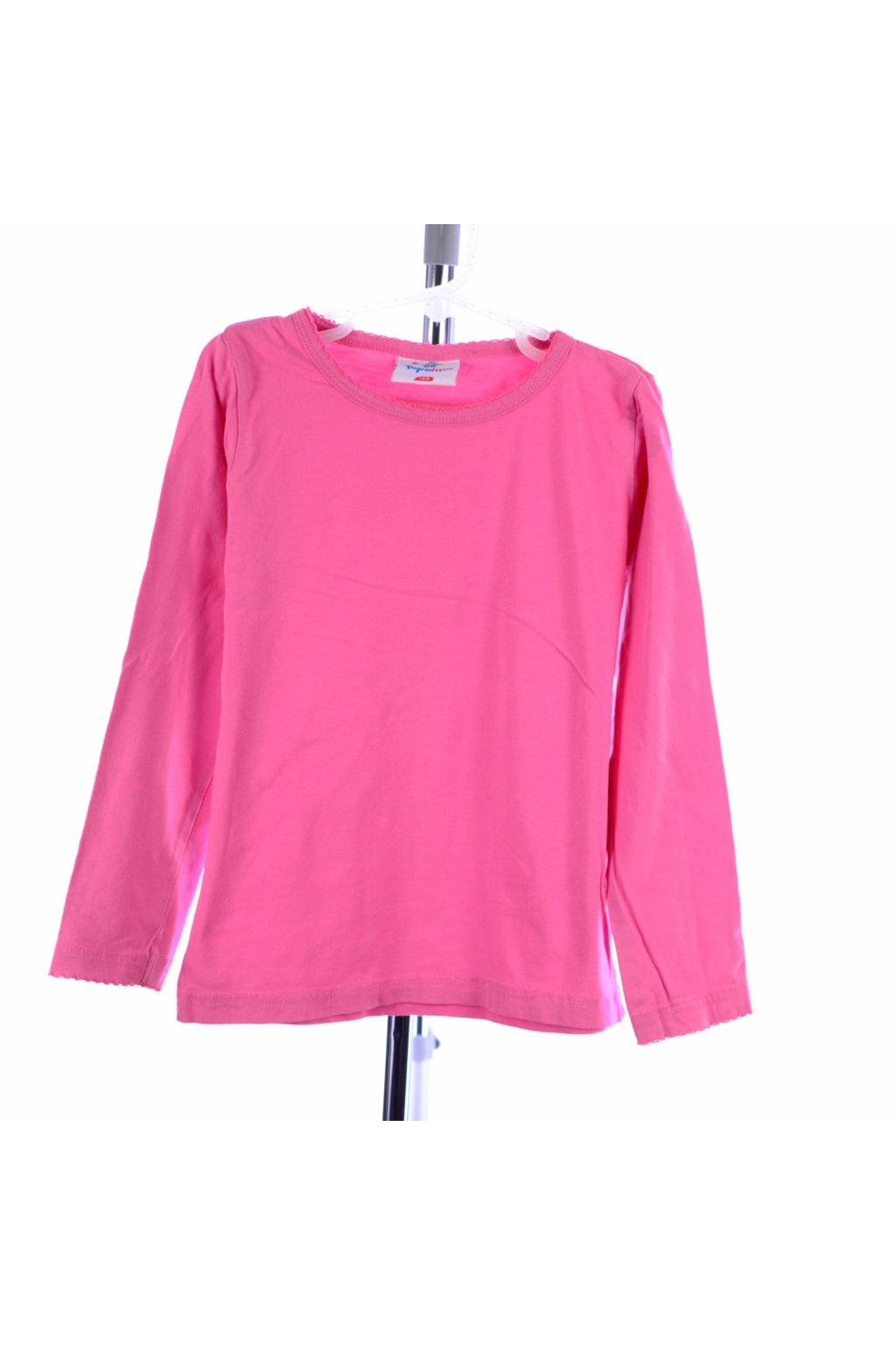 Tričko růžové Topolino vel. 122