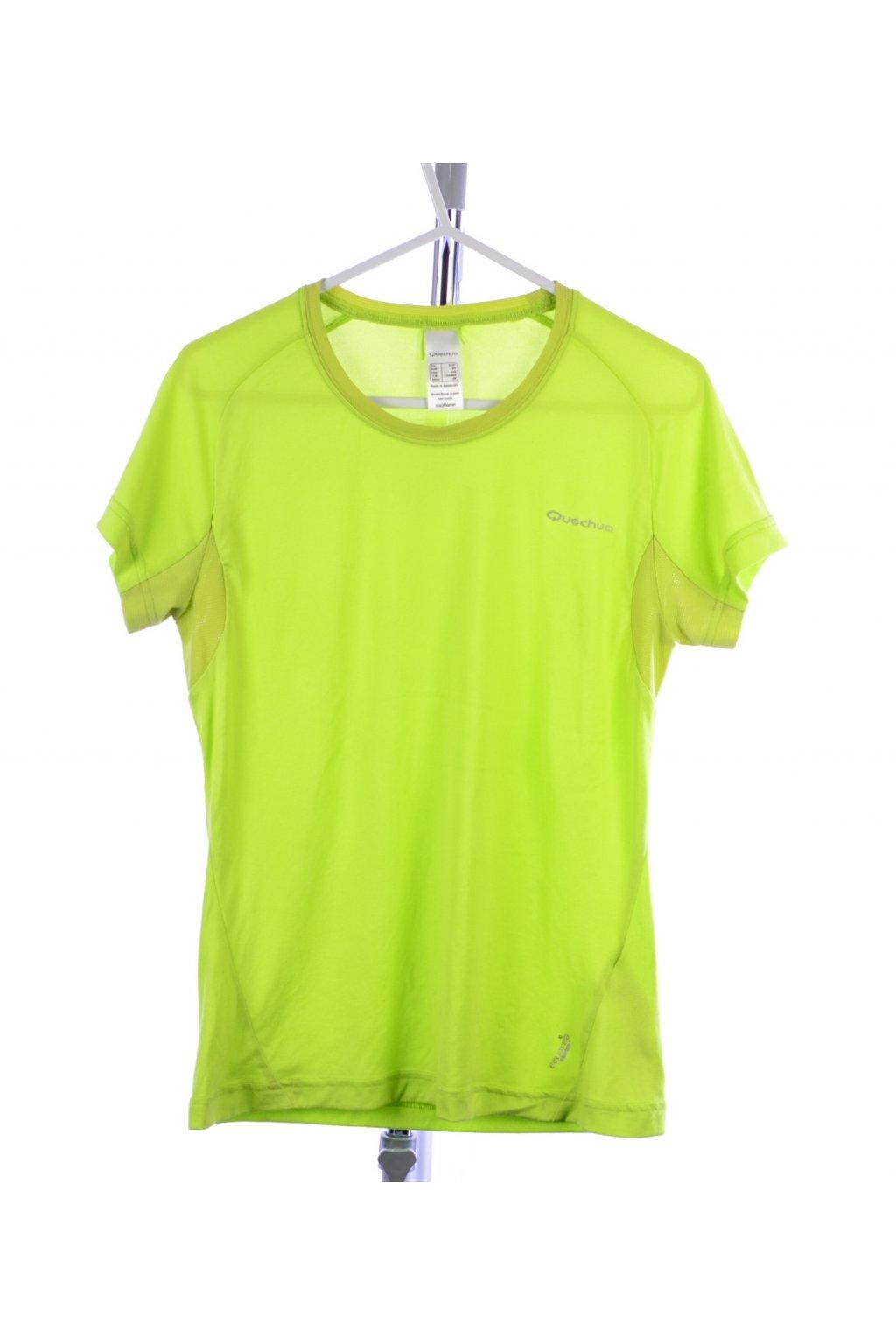 Tričko zelené sportovní Quechua vel. XS