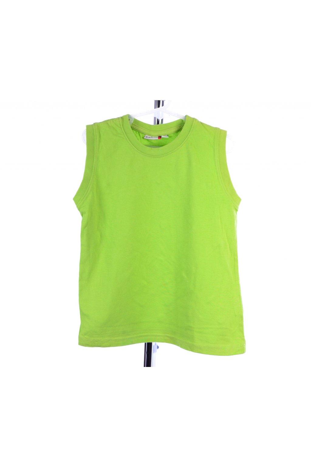 Tričko tílko zelené NKD vel. 104 / 110