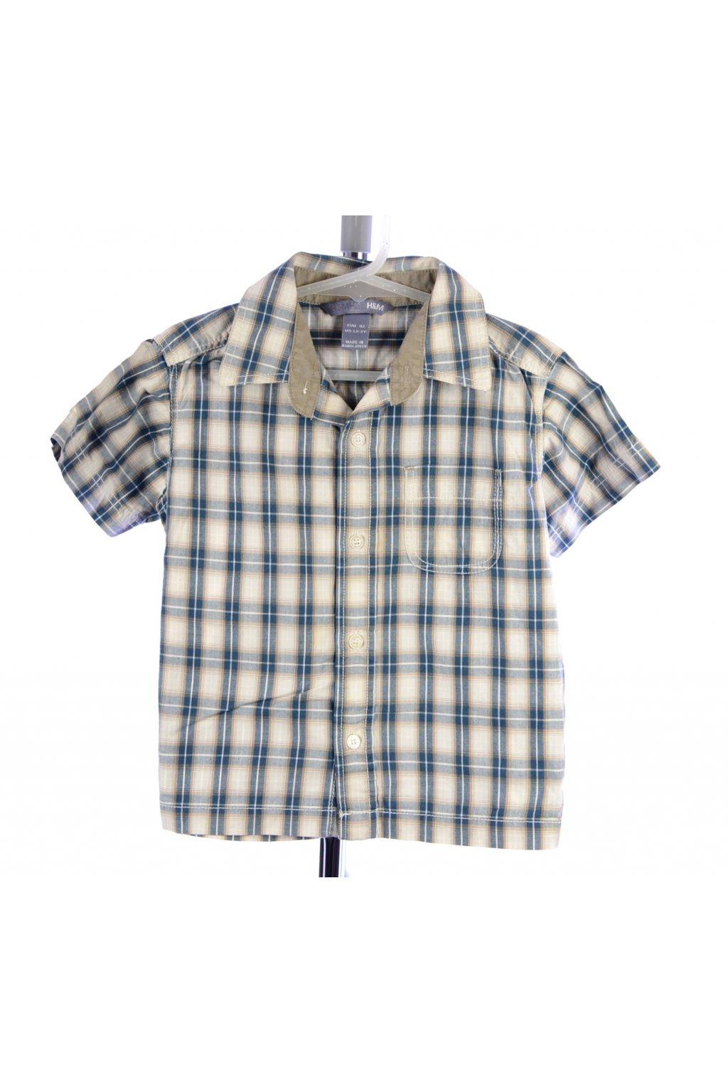 Košile karo H&M vel. 92