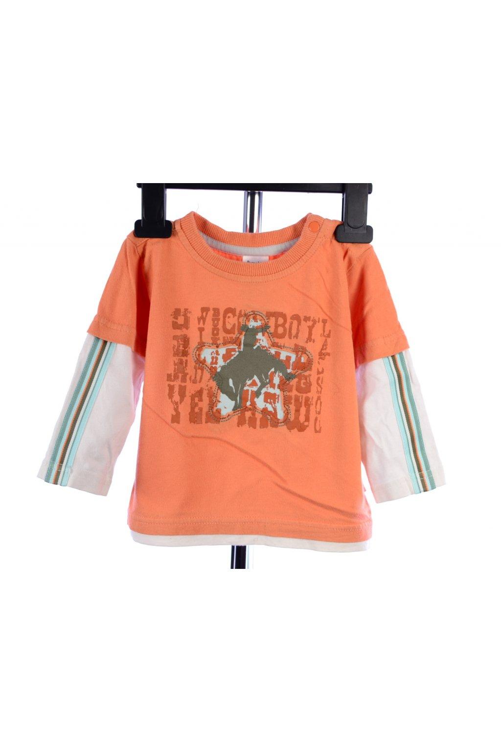 Tričko Pumpkin Patch vel. 68 - 80