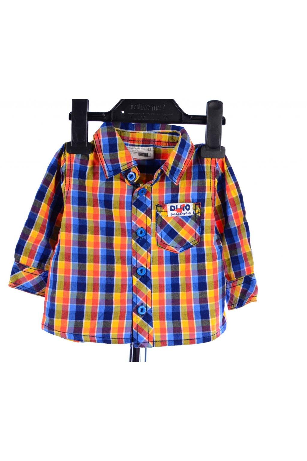 Košile kostkovaná Ergee vel. 68