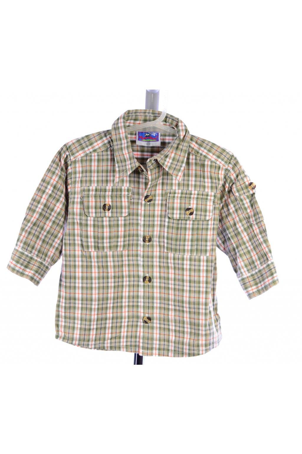 Košile Topolino kostkovaná vel. 80