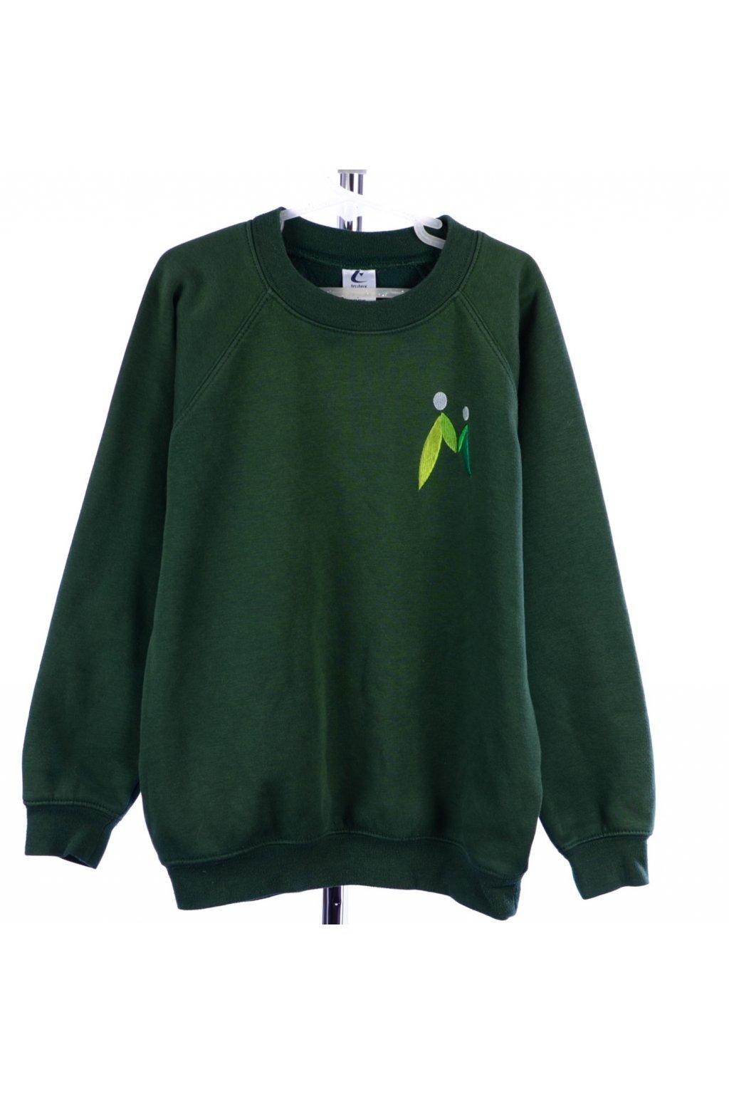 Mikina zelená Trutex vel. 128