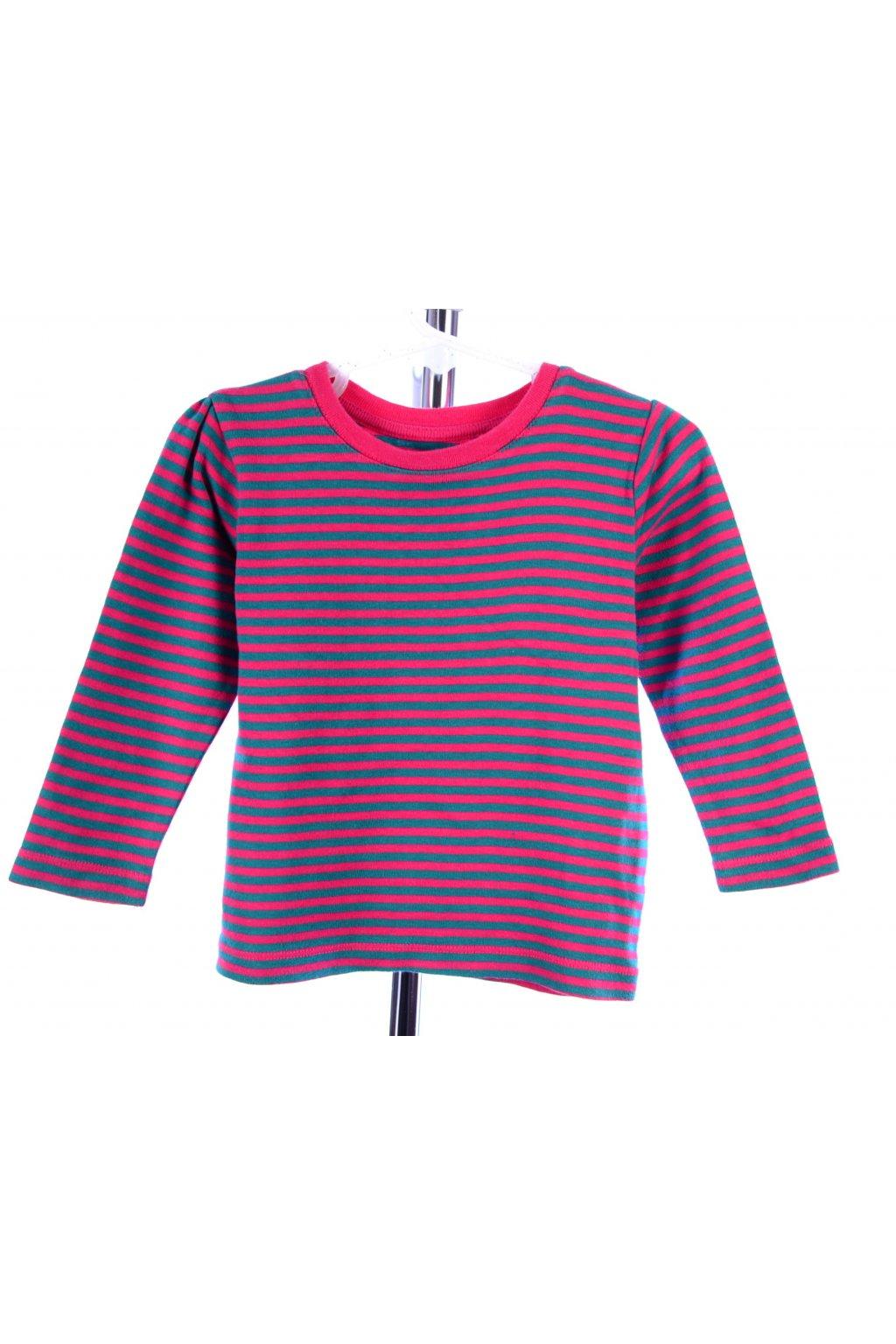 Tričko Esprit vel 80 růžový pruh