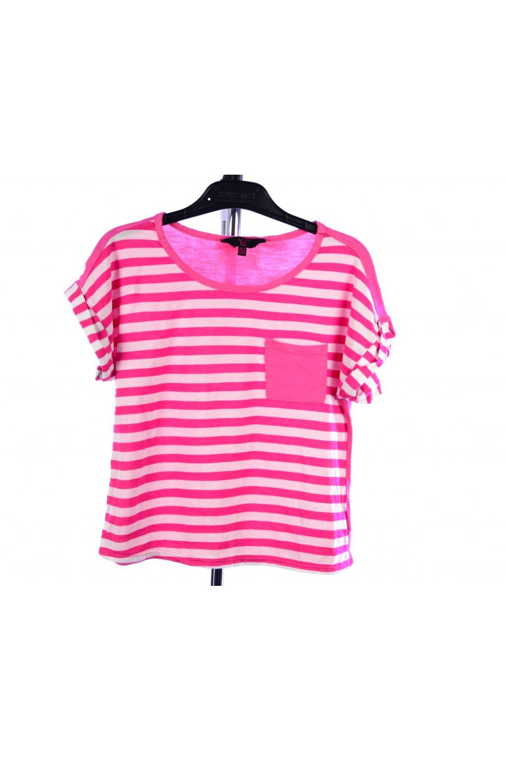 Tričko pruhované Primark vel. 146