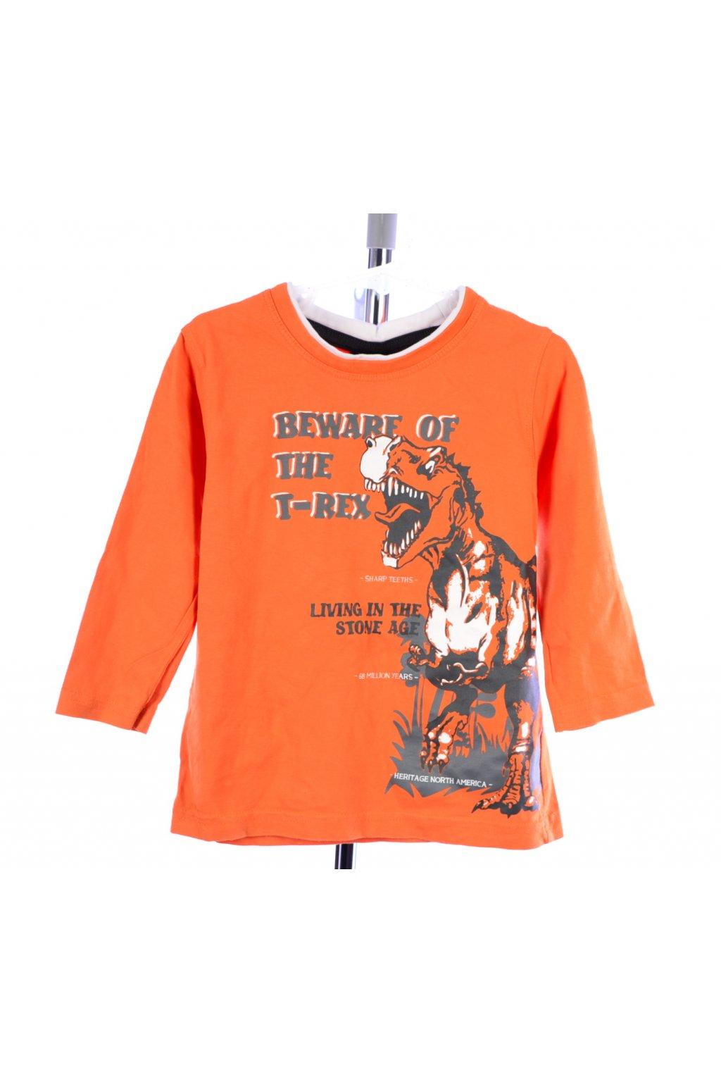 Tričko oranžové Takko vel. 98