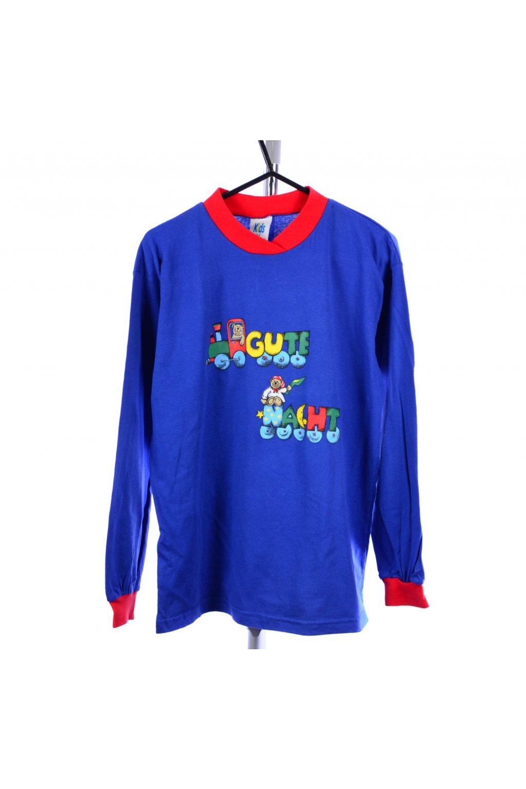 Tričko Kids modré vel. 152