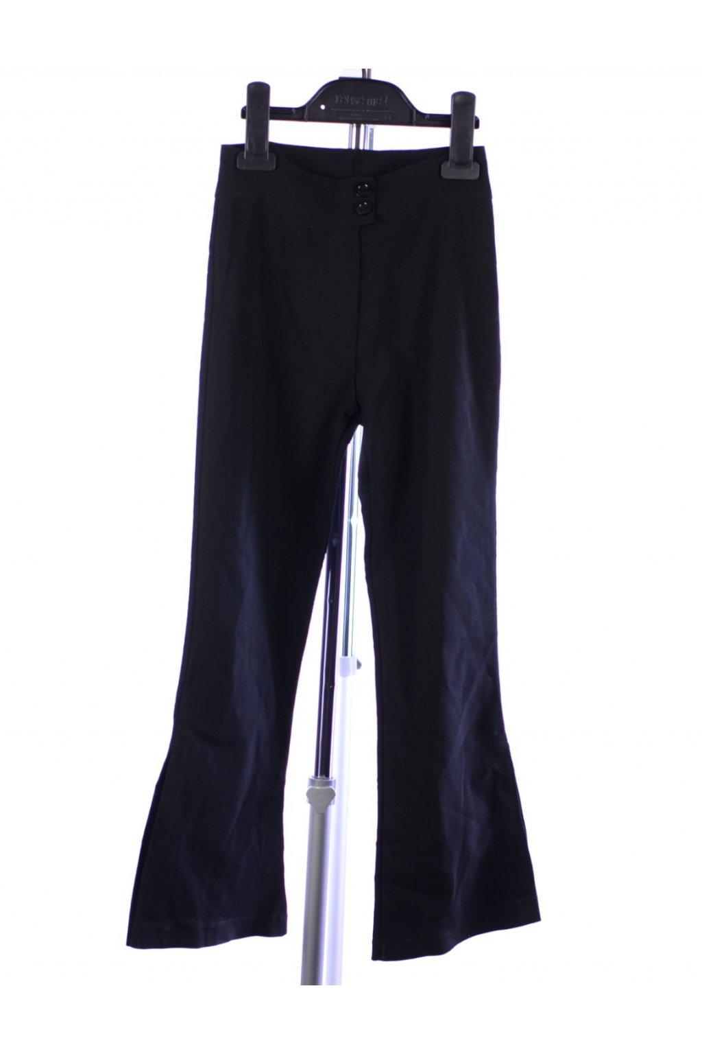 Kalhoty černé