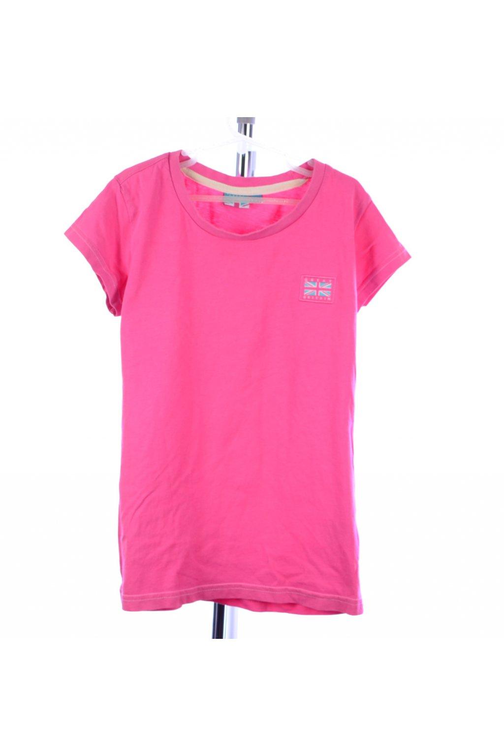 Tričko Great Britain 152 růžové