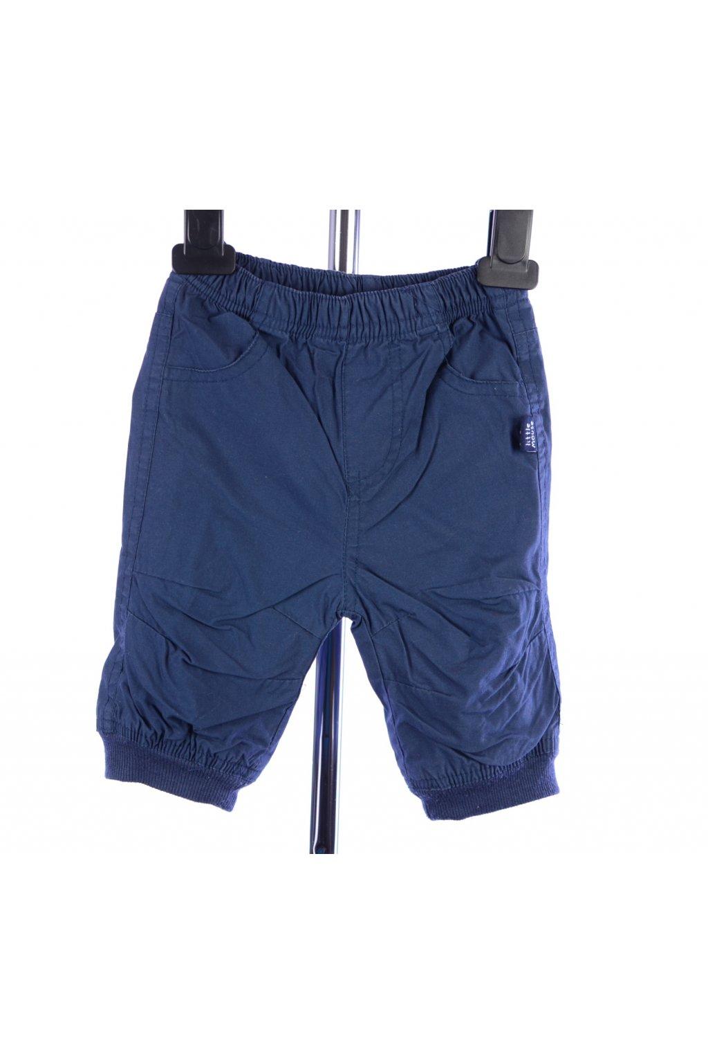 Kalhoty s podšívkou Zeeman 62 modré