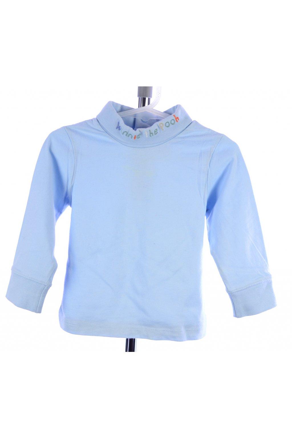 Tričko s rolákem Disney 62 bledě modré