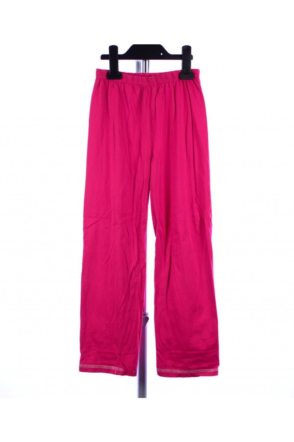 Pyžamo pouze kalhoty vel 122/6-7 růžové