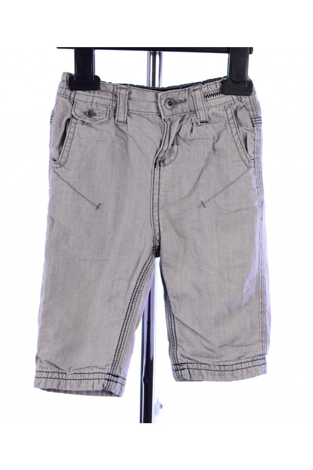 Kalhoty s podšívkou Francie vel 68 šedé