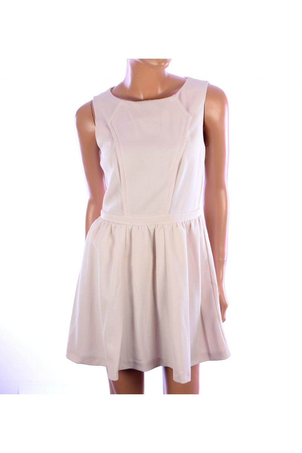 Šaty světle růžové Topshop vel. 38 / uk 10 / S @