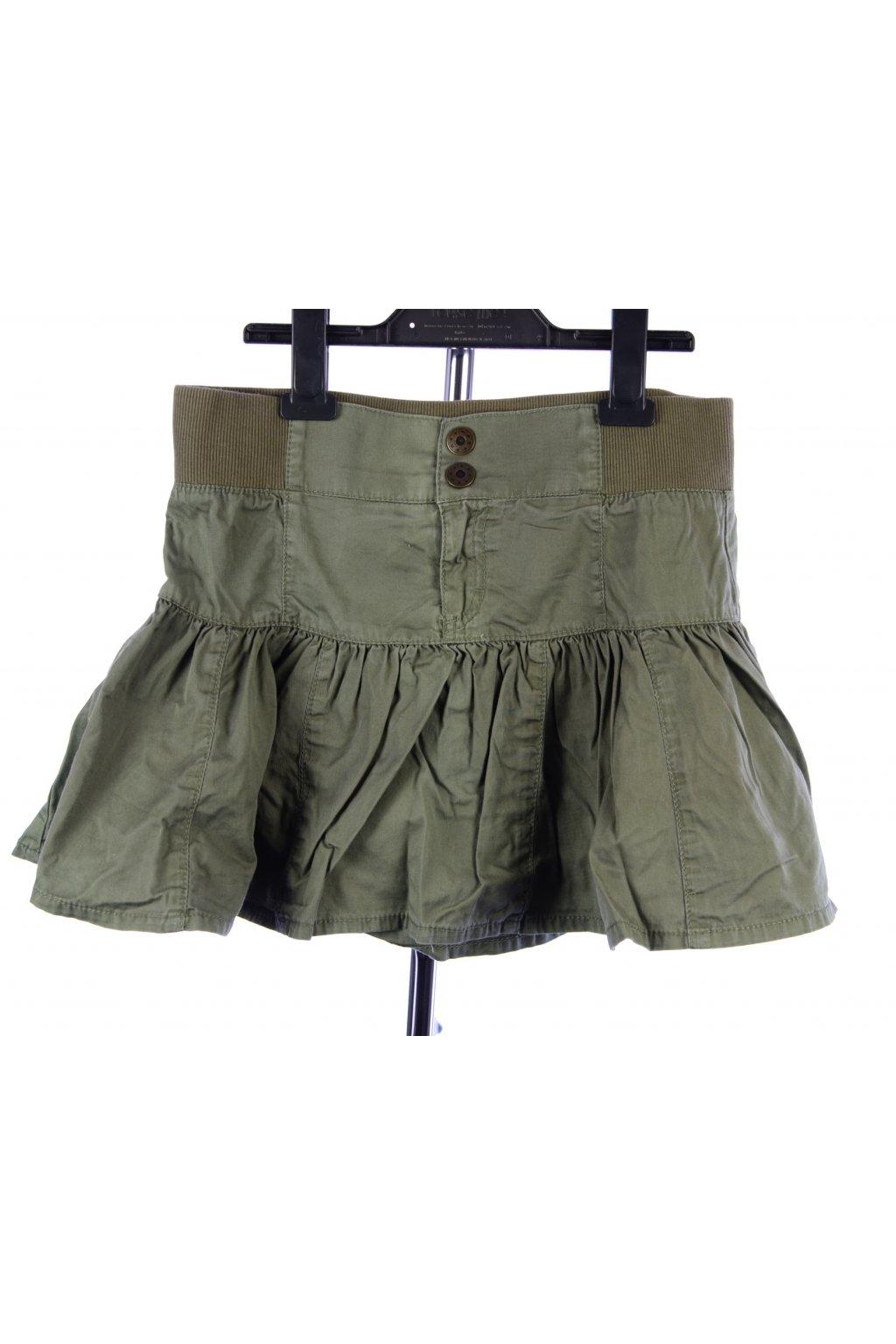 Sukně khaki H&M vel. 170 / XS