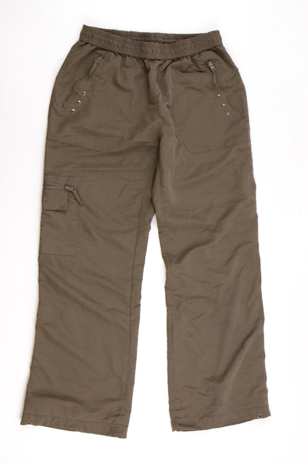 Kalhoty Identic M 38-40 zelené