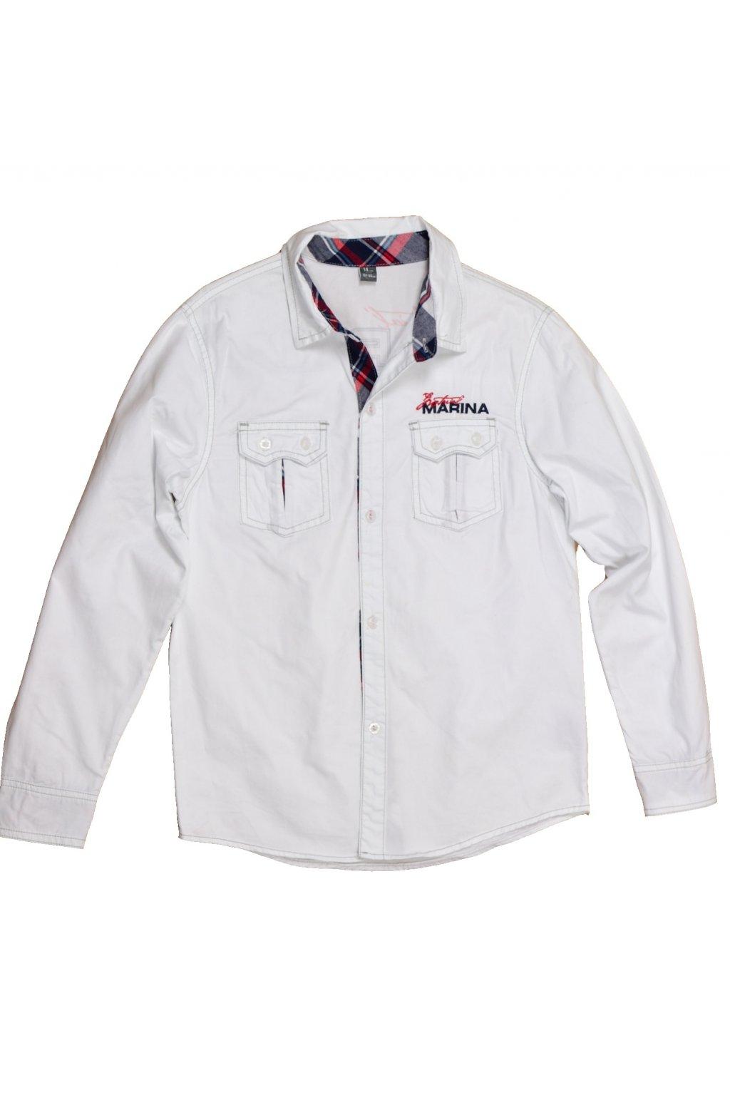 Košile Z&Y 158/164 bílá s nápisy