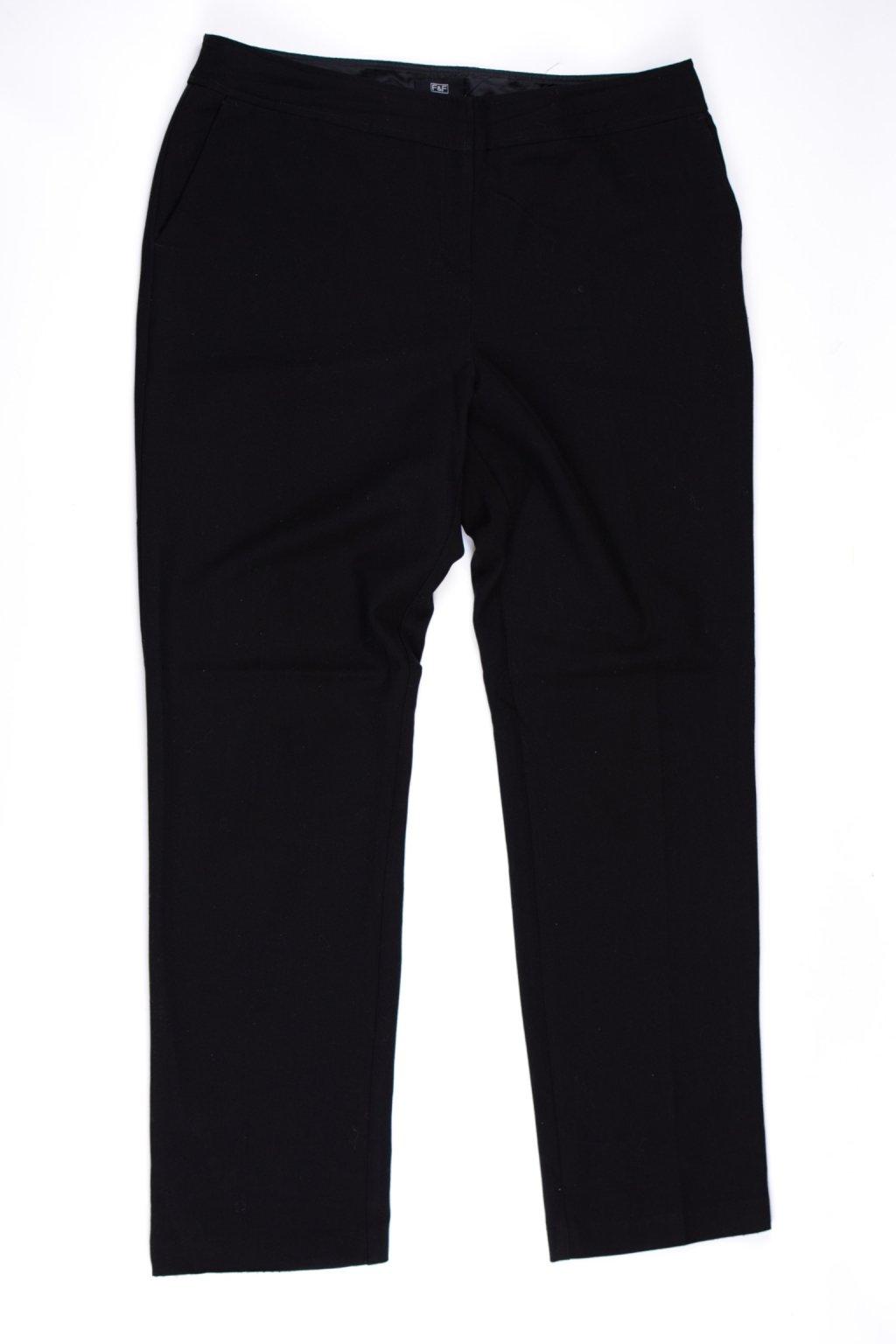 Kalhoty formální F&F vel M/42/uk14 černé