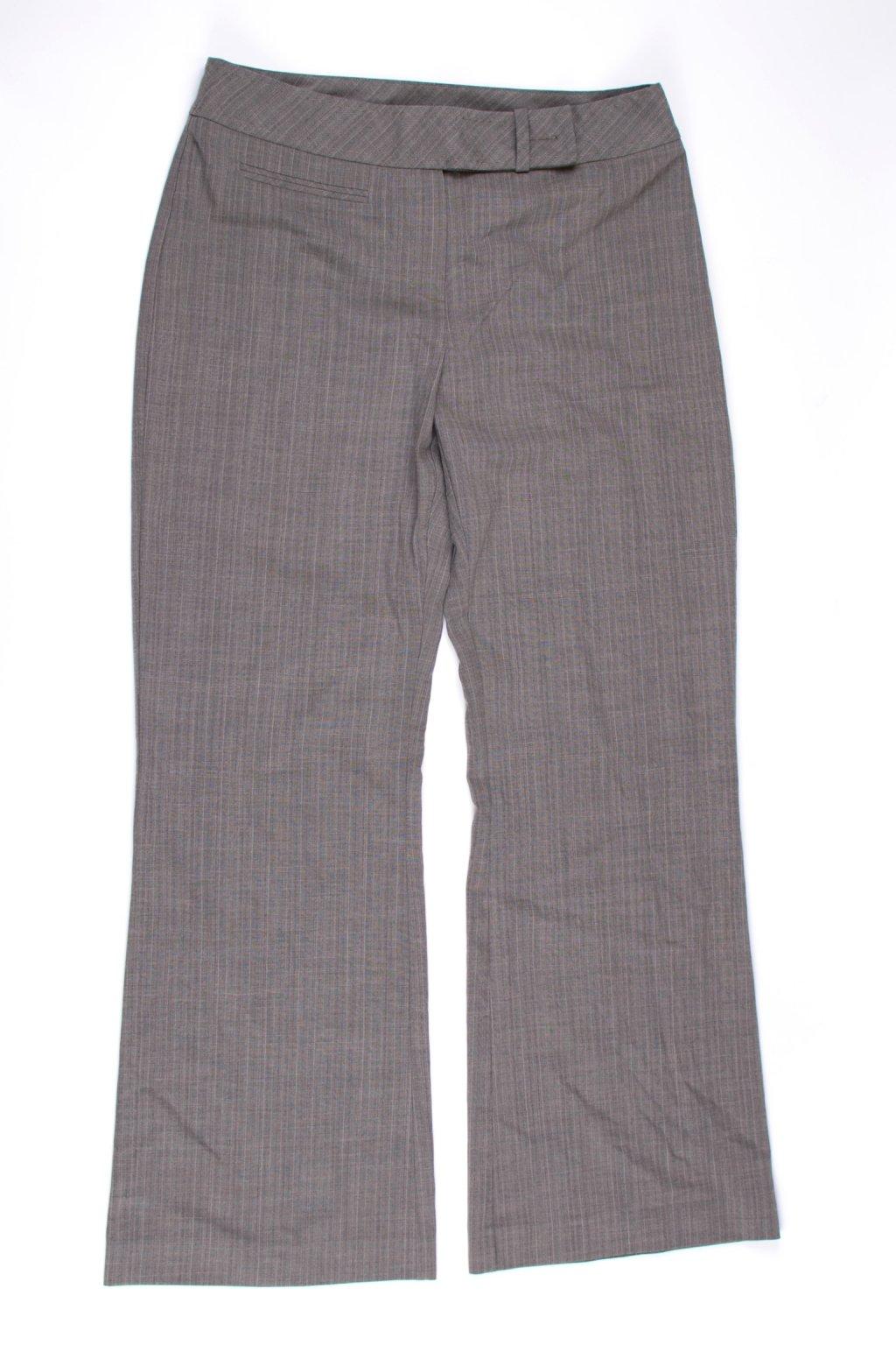 Kalhoty TU formální vel M/42/uk12 hnědé