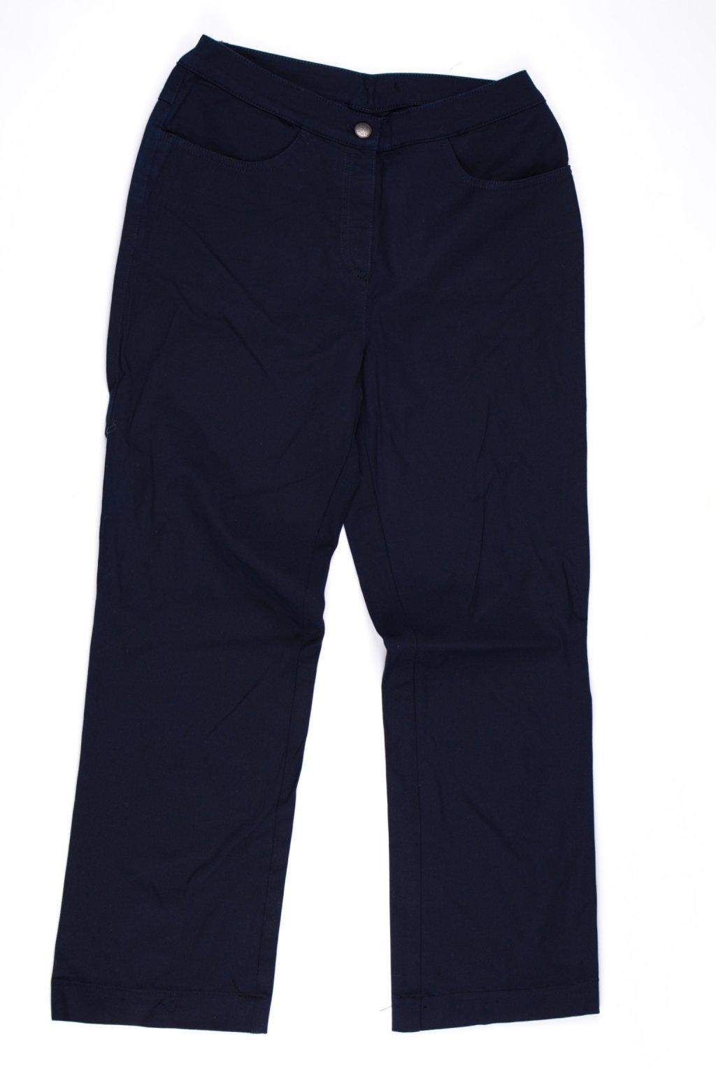 Kalhoty vel 36-38/S modré zkrácené