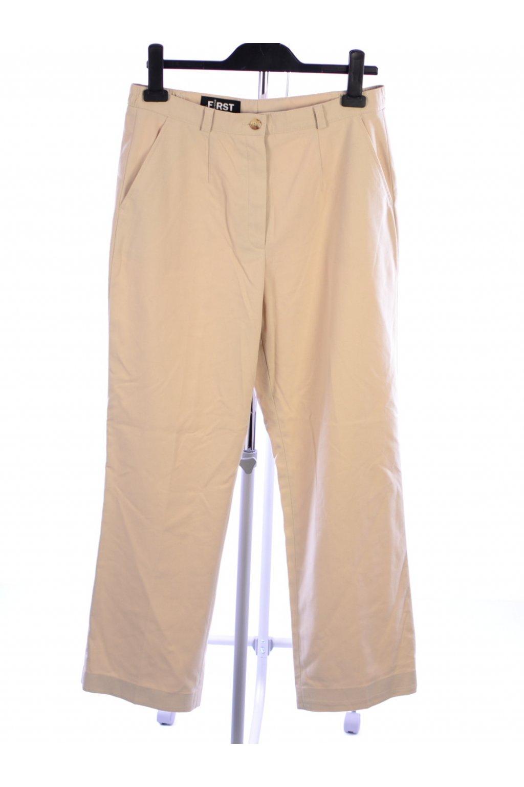 Kalhoty business First Avenue  vel 38 světle béžové