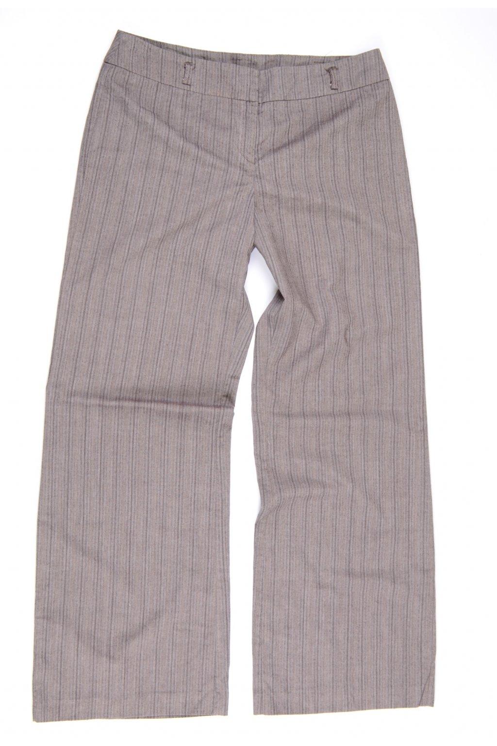 Kalhoty formální F&F M/UK12/40-42 hnědé