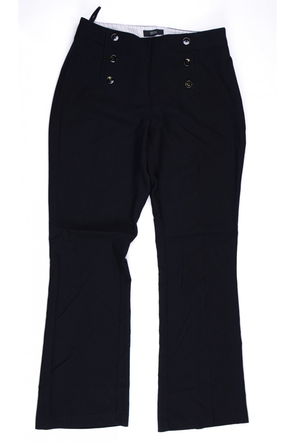 Kalhoty formální Marks&Spencer vel M/UK12 černé @