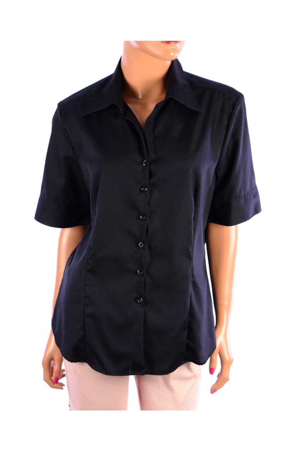 Halenka košile Hany Kroll vel 42/M-L černá
