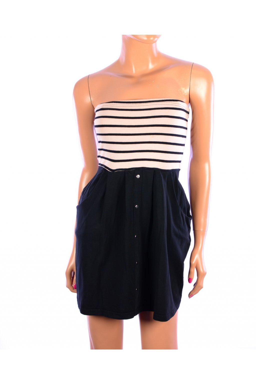 Šaty bez ramínek Vero Moda vel. S