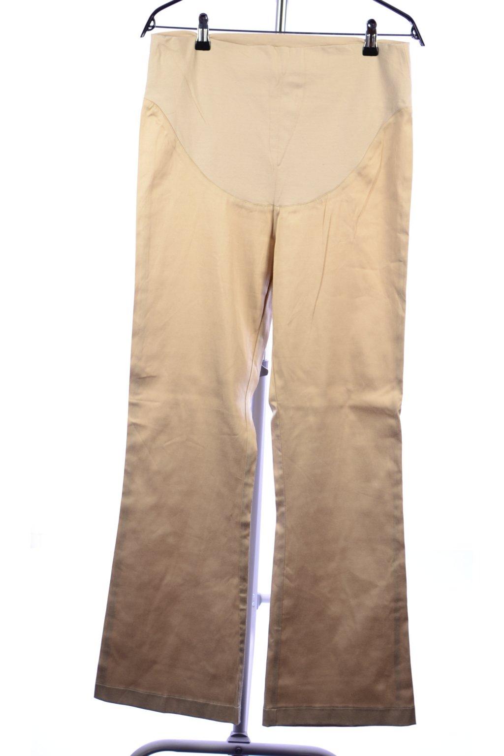 Kalhoty těhotenské Cache-Cache vel 40/M béžové
