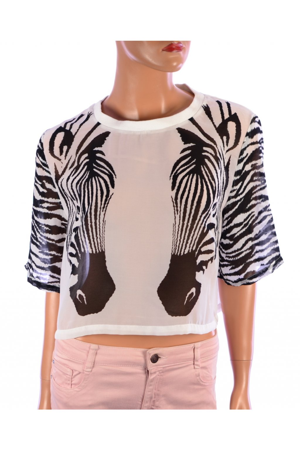 Halenka H&M zebra vel. 42 / M