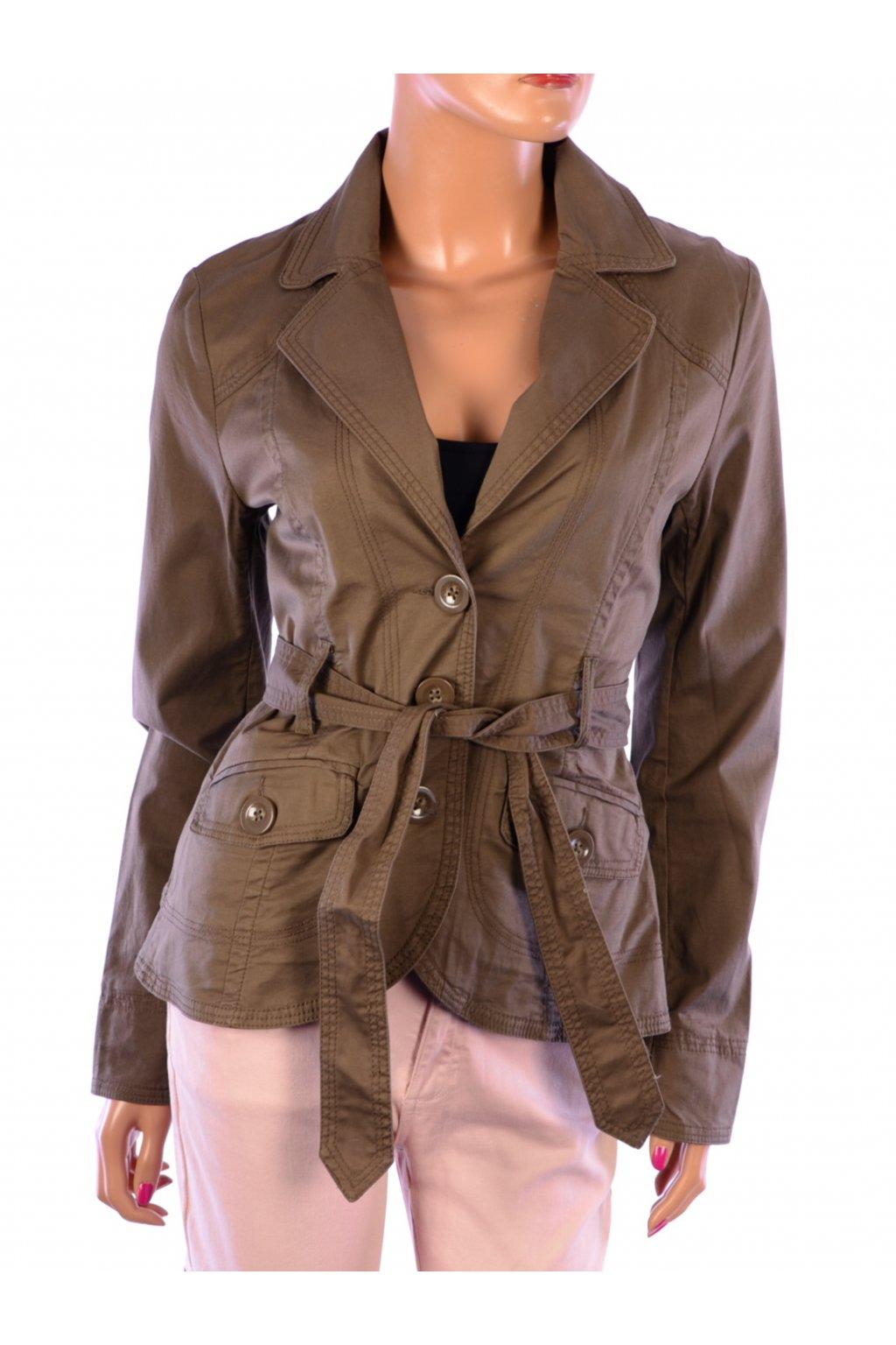 Kabátek sako hnědé H&M vel. 38 / uk 8 / S