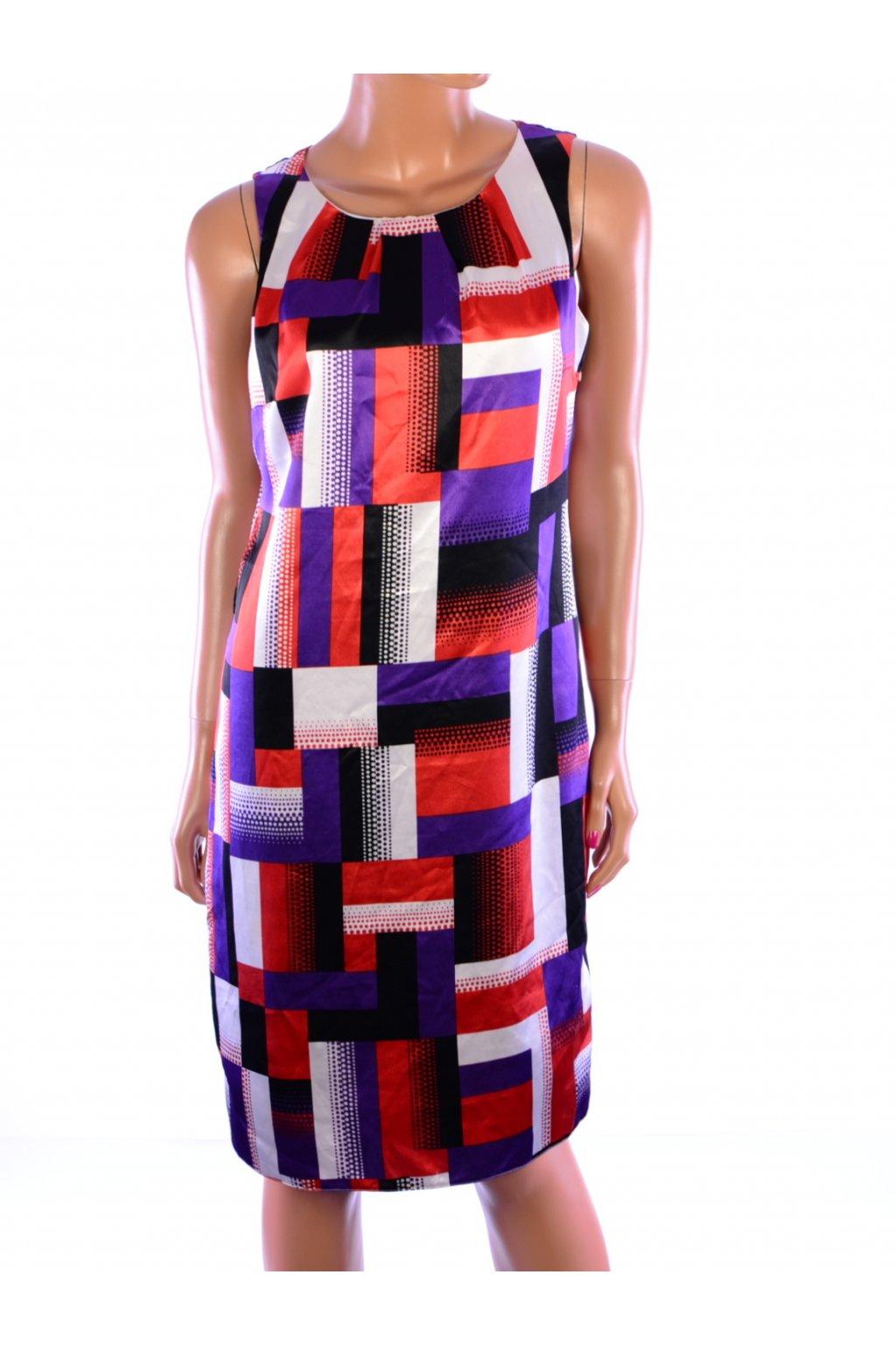 Šaty F&F barevné vel. S / uk 10 VADA