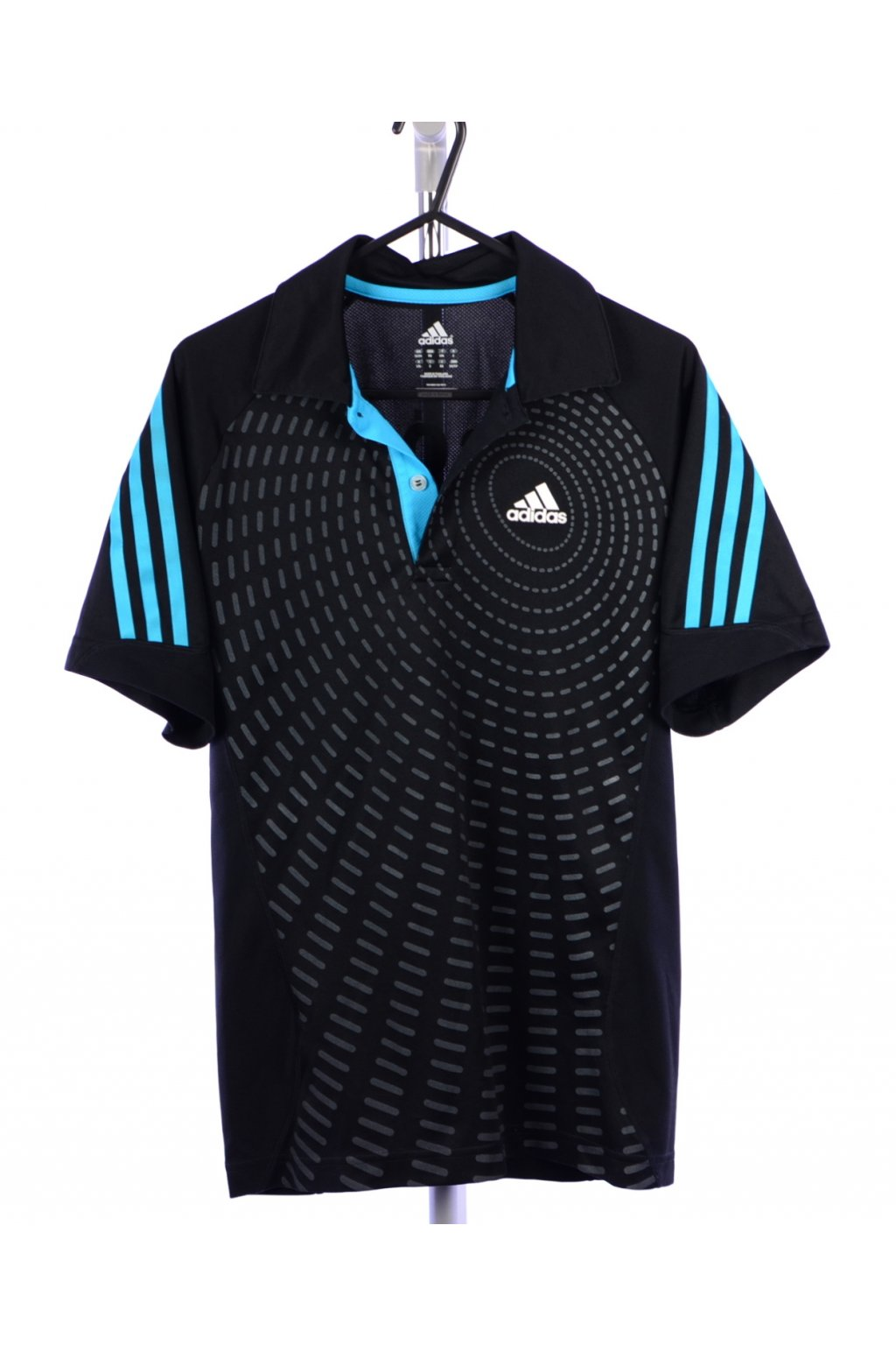 Tričko Adidas modro černé vel. XS @