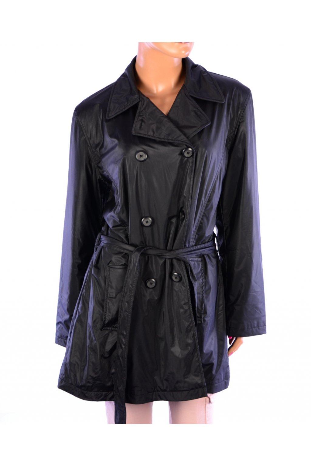 Kabát přechodný voděodolný Salonie černý vel. L vada