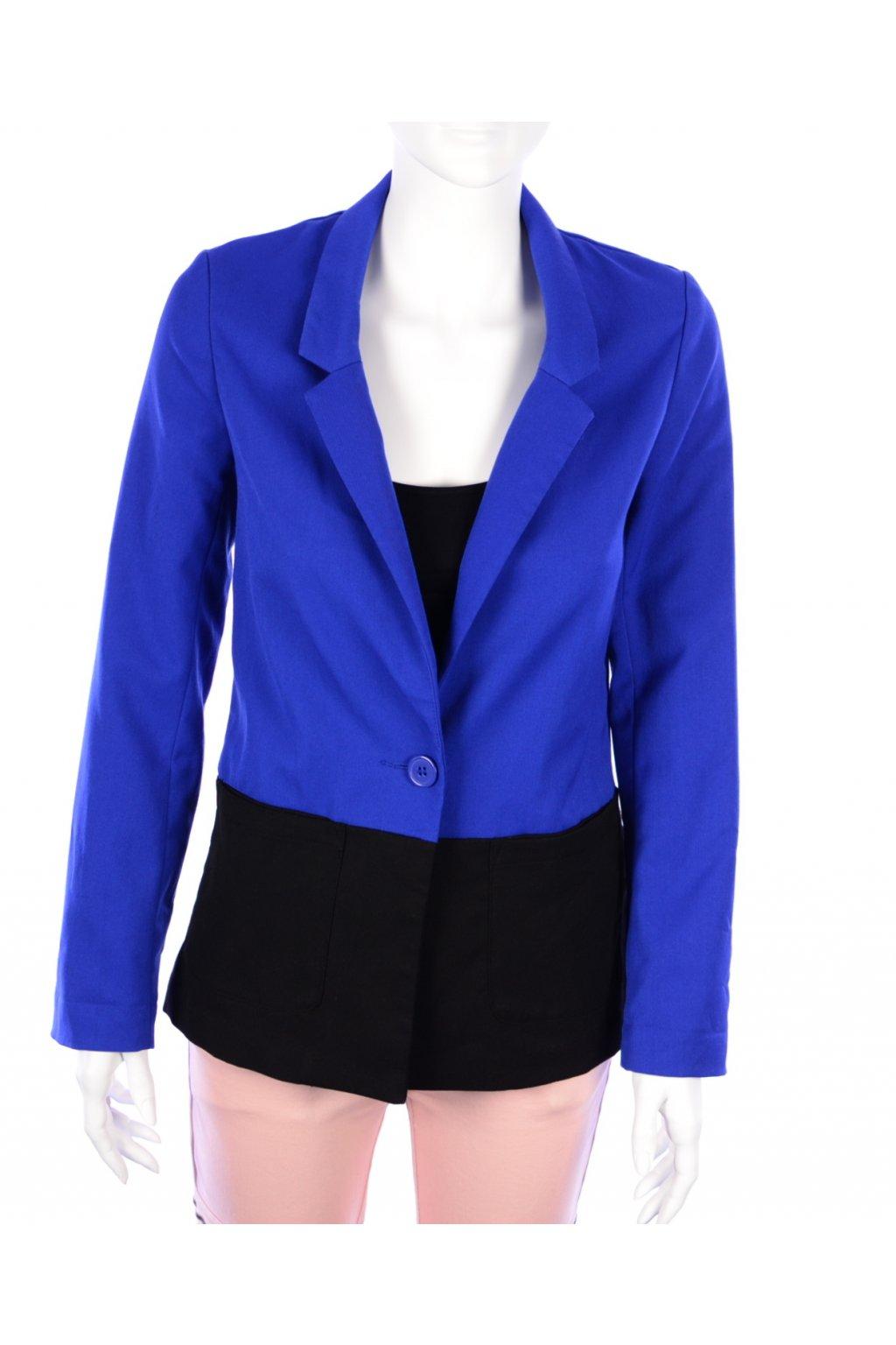 Sako modro-černé H&M vel. 34 / XS