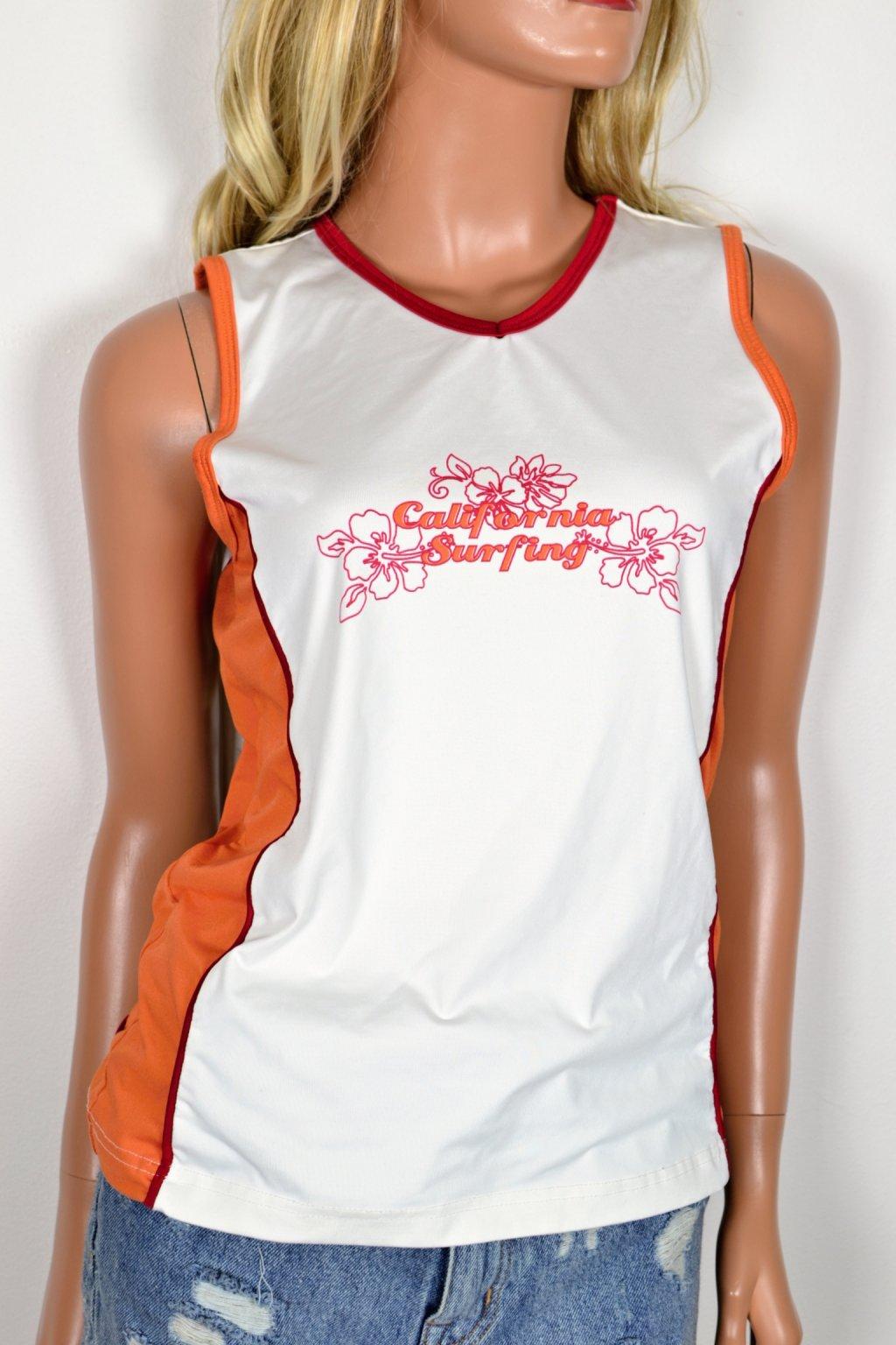 Plážové sportovní plavecké tílko tričko TCM 40/42 UK14/16
