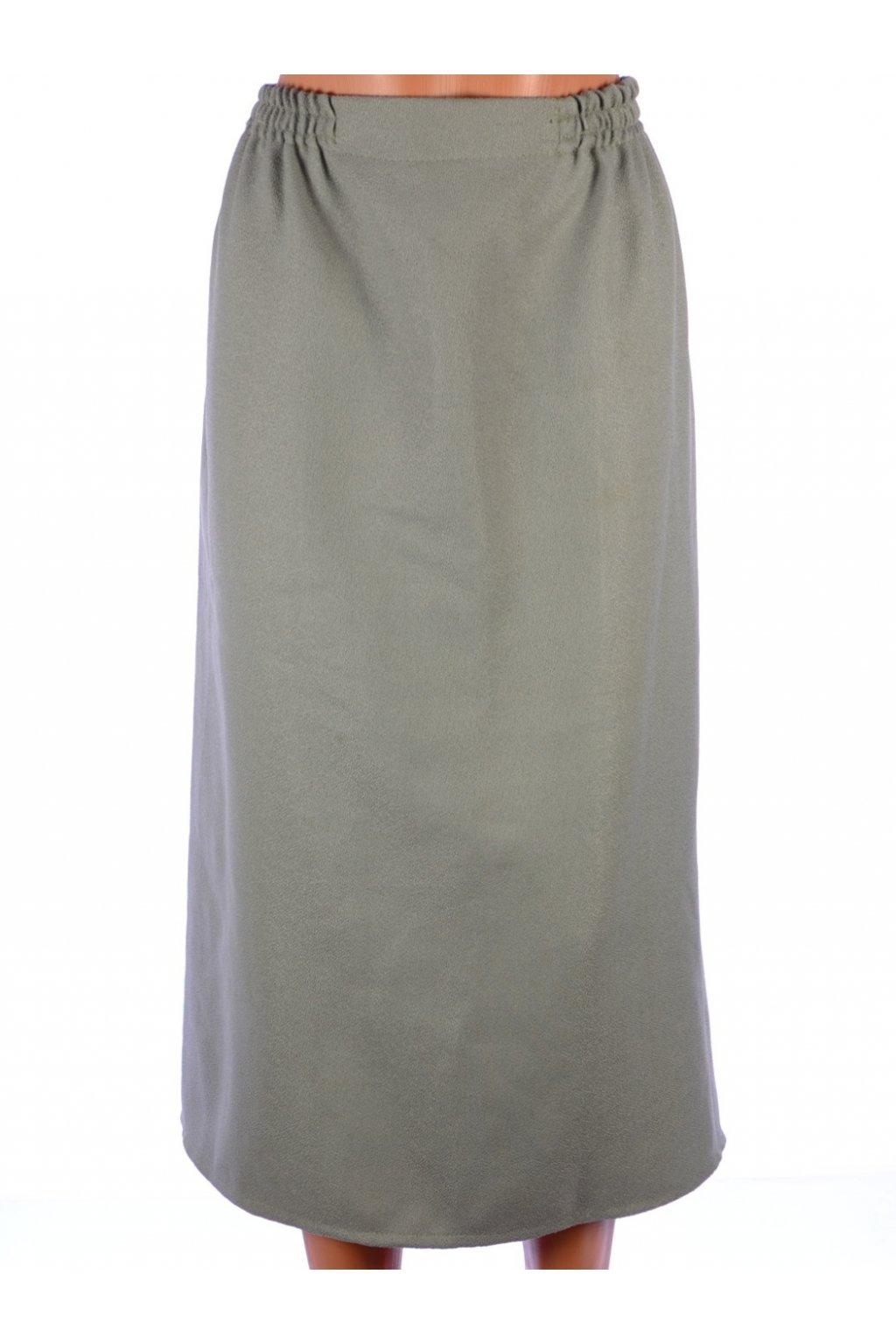 Sukně Image světlá khaki dlouhá vel. XL