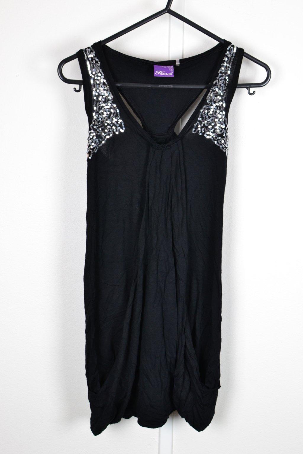 Šaty Hooch Matalan černé s filtry 134/8-9