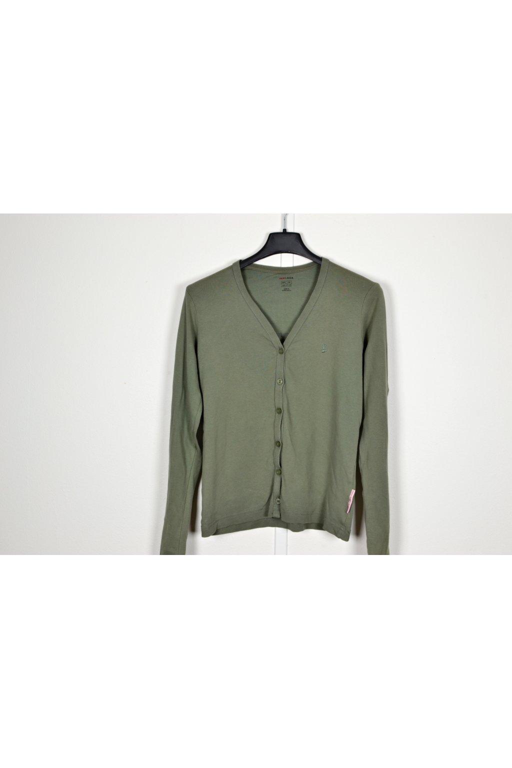 Mikina H&M vel 158/12-13 zelená