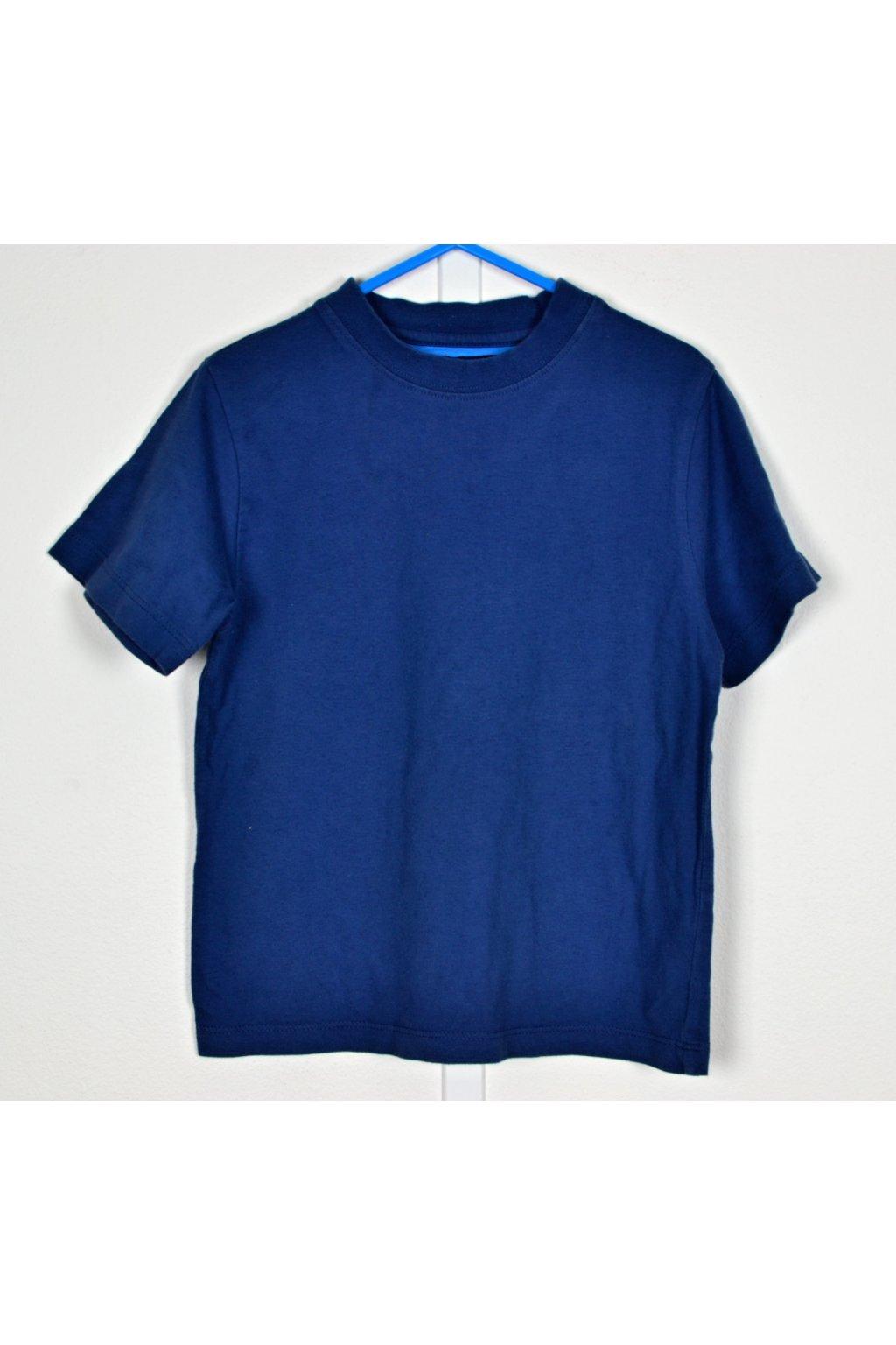 Tričko Red Herring vel 3-4/104 modré krátký r