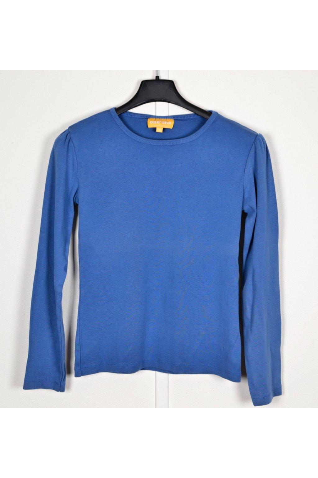 Tričko One by one vel 152 modré dlouhý rukáv