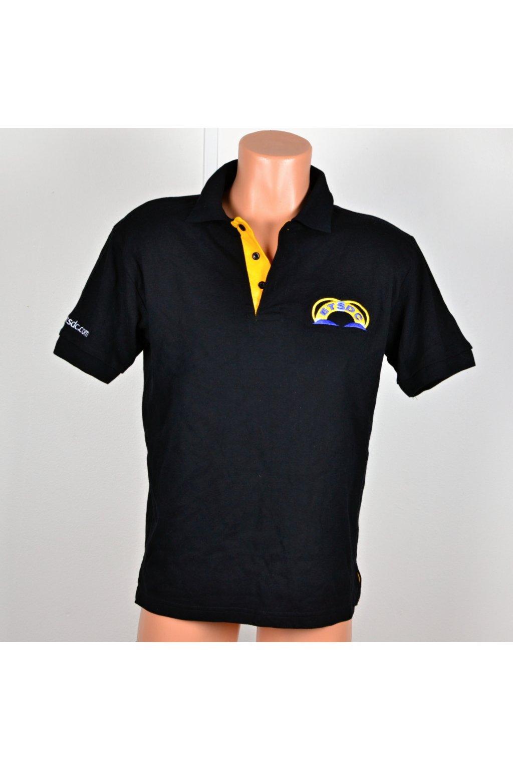 Polo tričko vel  M černé